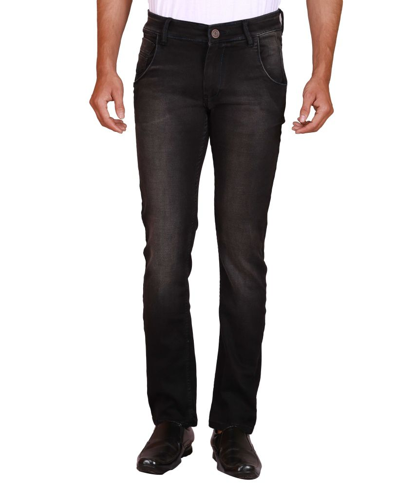 Elfried Black Skinny Jeans