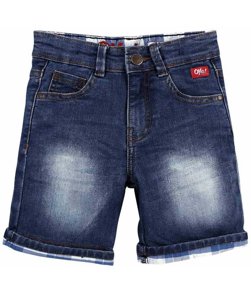 Oye Blue Denim Shorts