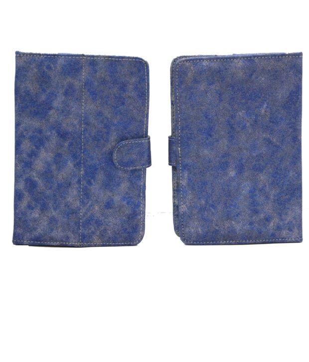 Jo Jo Metal YB Flip Flap Case Cover Pouch Carry For Celkon Ct-888 Blue