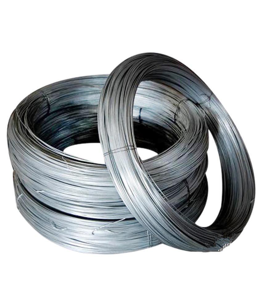 Bajrang Metals 18 Gauge Binding Wire - Bunch Of 20 Kgs: Buy Bajrang ...