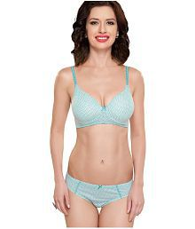 Inner Sense Organic Antimicrobial Padded Bra & Panty Sets