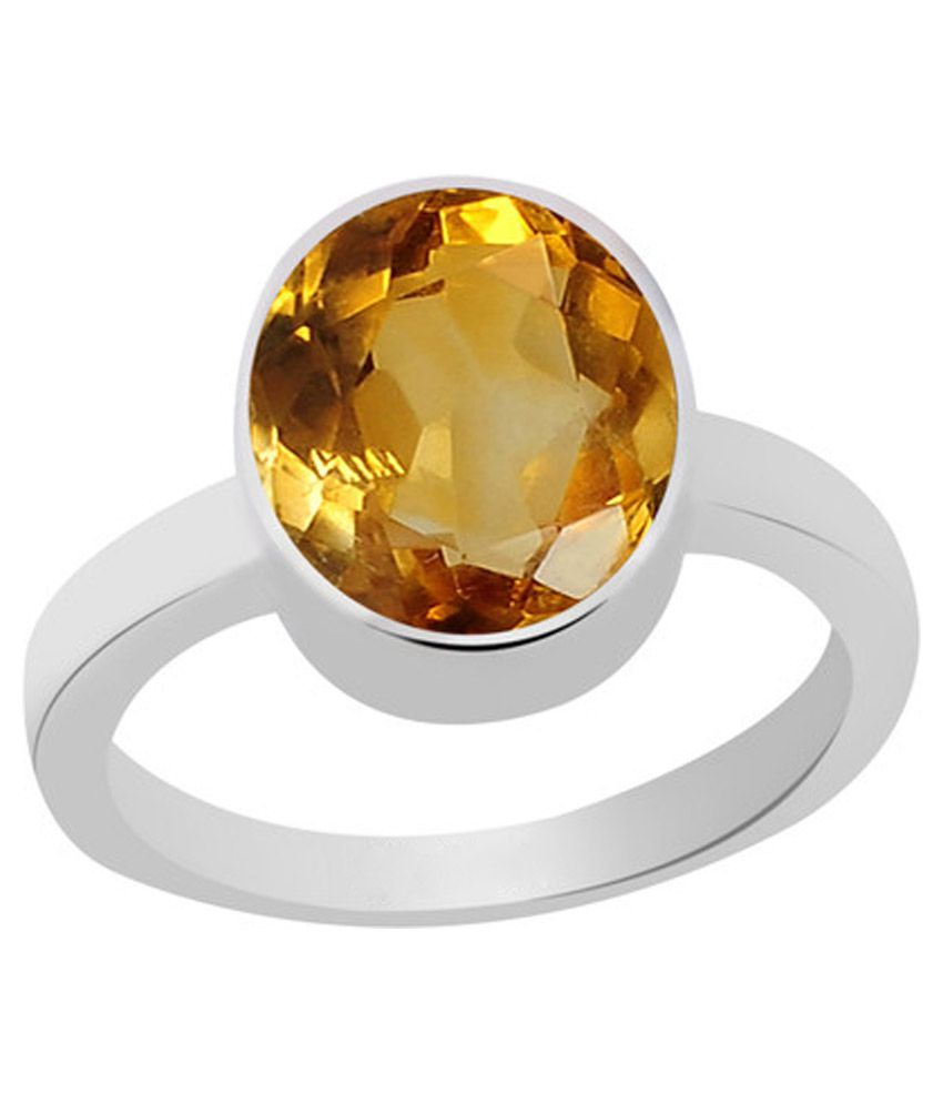 Buy Yellow Topaz Ring Online India