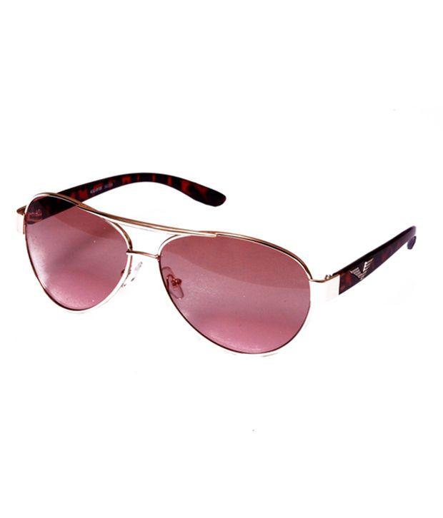 Arcade Golden Gradient Sunglasses