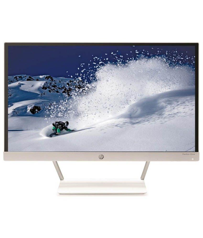 HP 55.9 cm (22) Full HD LED Moniter-White