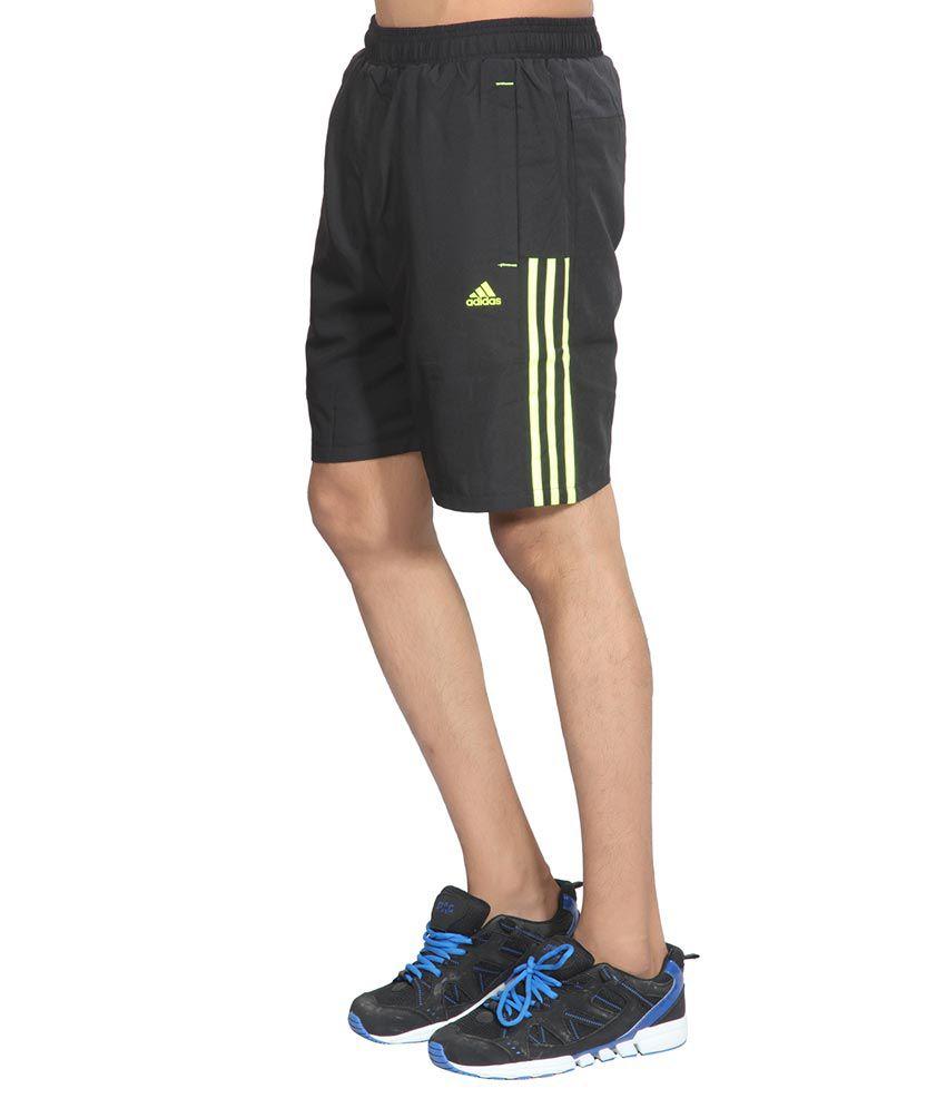 adidas polyester shorts