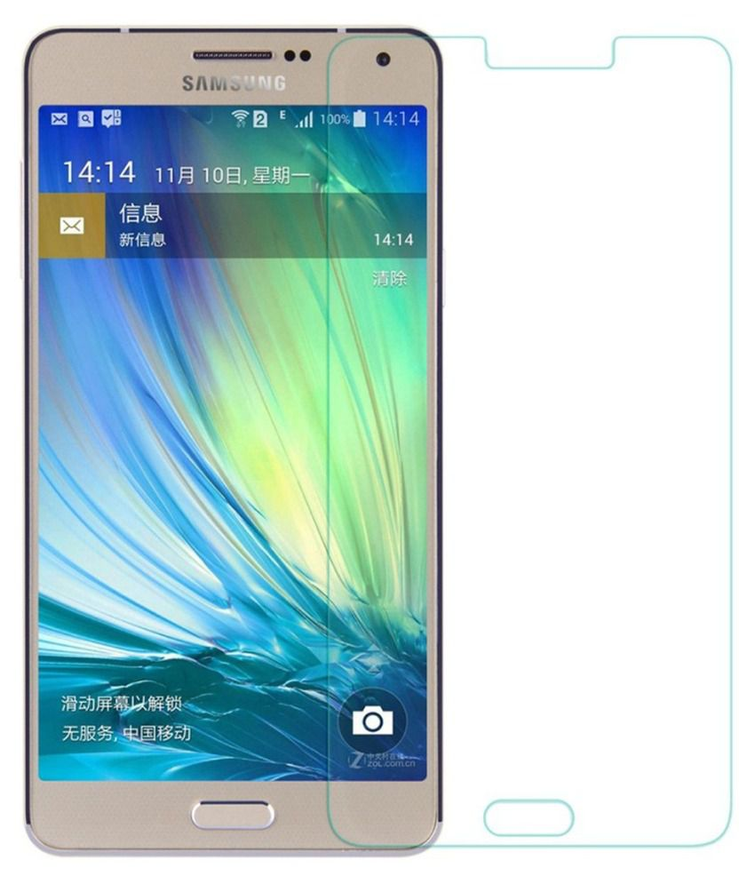 Samsung Galaxy E7 (4 PCS) Clear Screen Guard by Mob Star