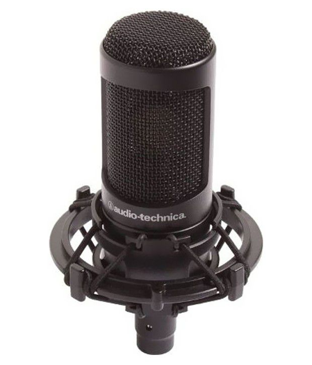 Audio Technica AT2035 Large Diaphragm Cardioid Condenser Microphone