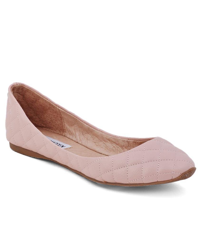 3569e9528bd Steve Madden Pink Ballerinas Price in India- Buy Steve Madden Pink Ballerinas  Online at Snapdeal