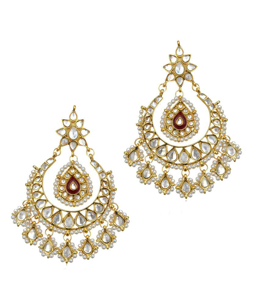 The Pari Modish Colour Spark Chandelier Earrings