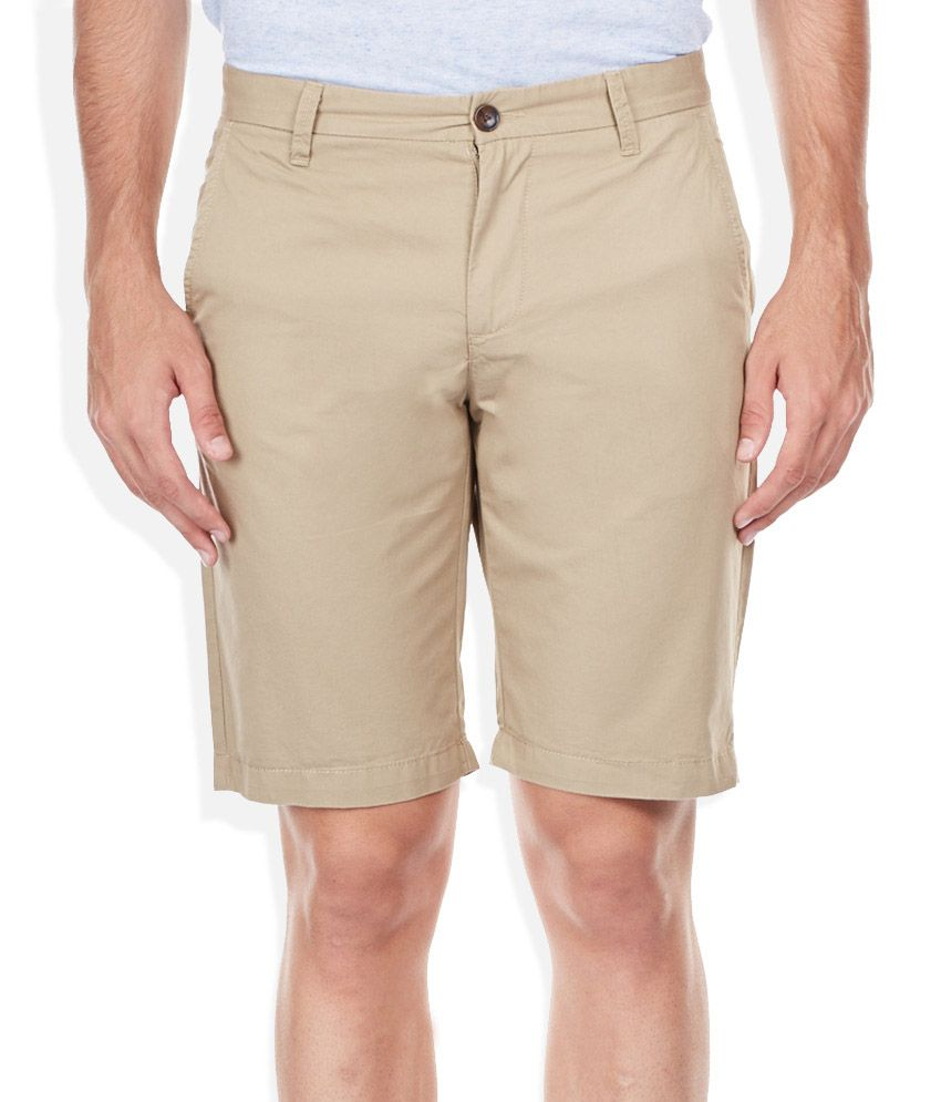 United Colors Of Benetton Beige Shorts