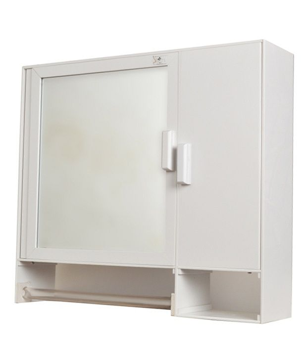 Buy Zahab Daina Bathroom Cabinet With Towel Rod Online At
