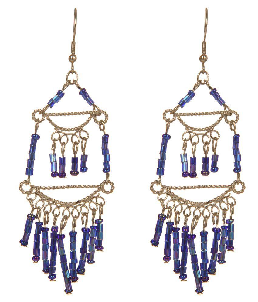 DCA Multicolor Fish Hook Drop Earrings