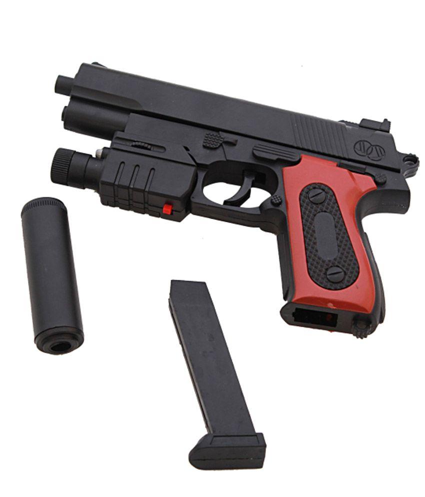 Dealbindaas Air Soft Laser Combat Toy Gun Black Buy