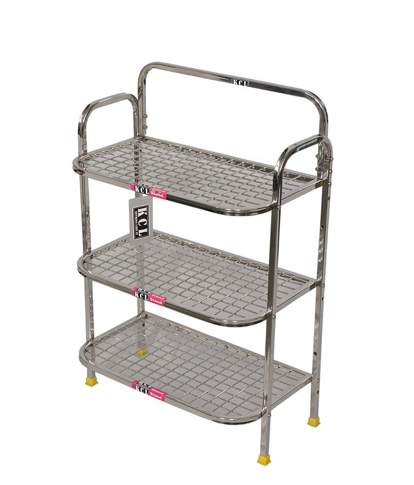 metal kitchen storage racks kcl stainless steel kitchen rack buy kcl stainless steel 7468