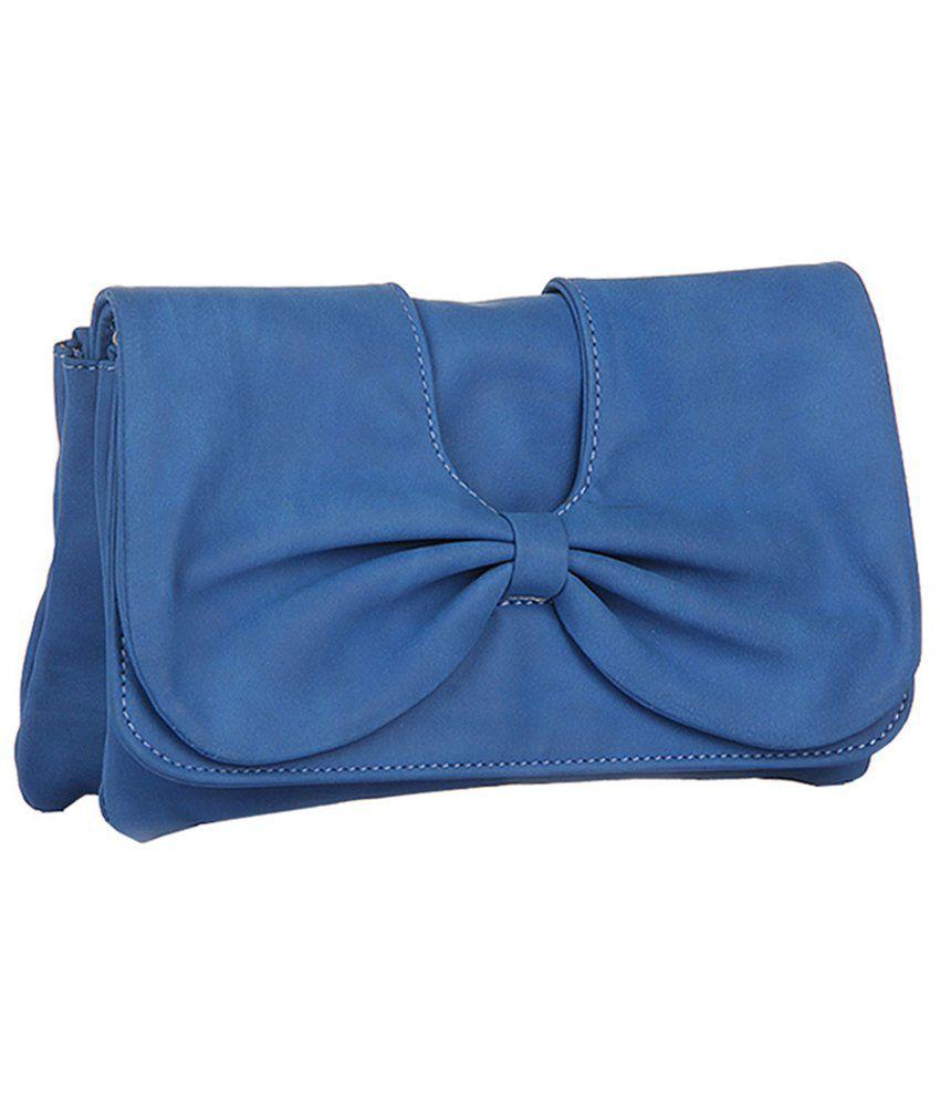 Butterflies Blue Women Wallet
