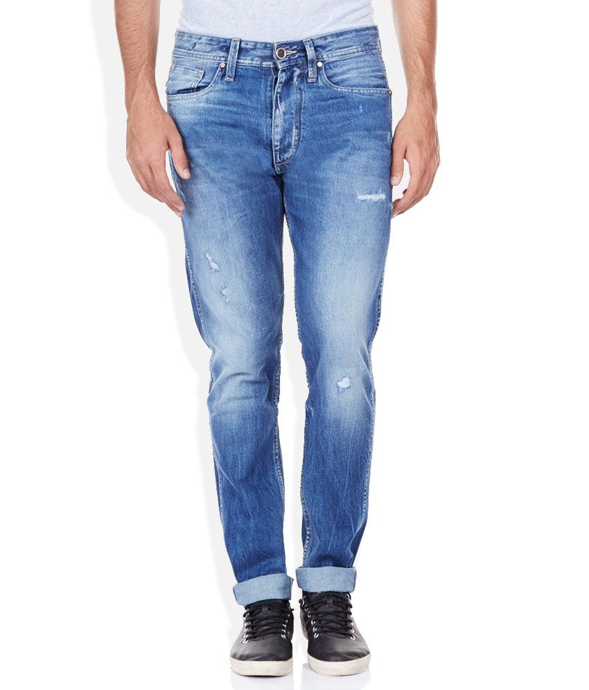 VOI JEANS Blue Slim Jeans