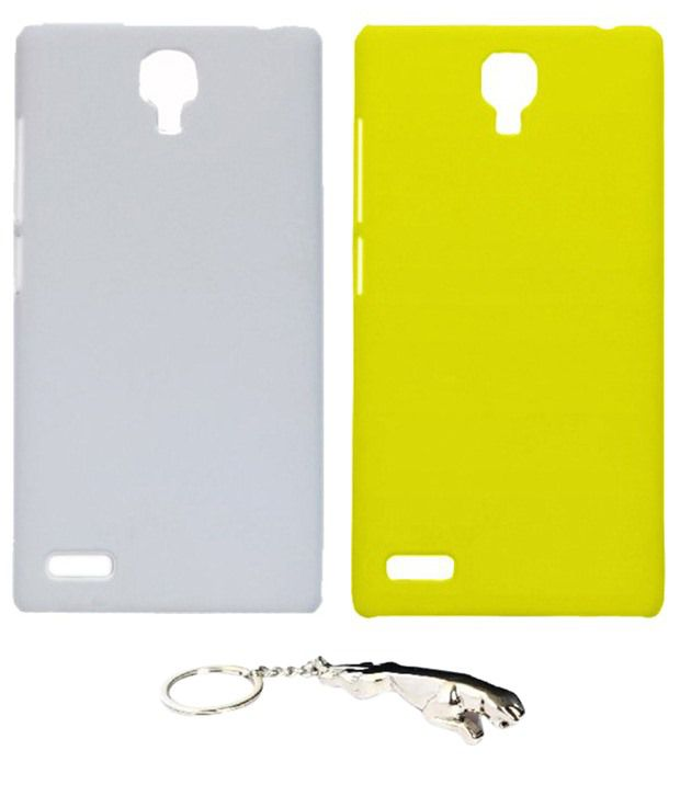 Winsome Deal Stylish Multicolour Combo of Keychain & 2 Xiaomi Redmi Note Back Covers