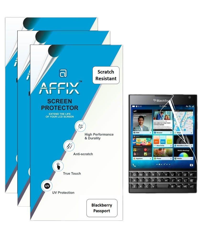 Blackberry Passport Screen Guard by Affix