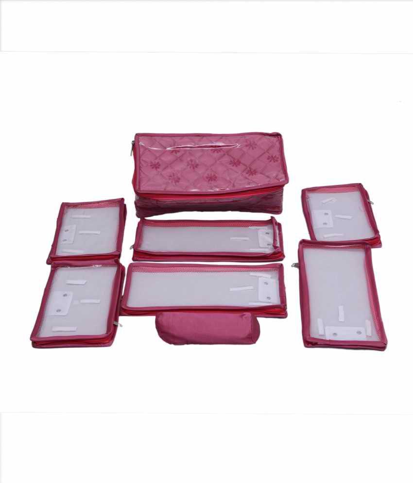Kuber Industries Locker Jewellery Kits In Satin