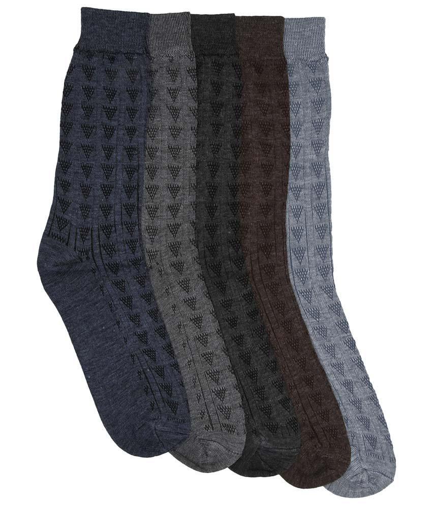 Mikado Multi Casual Full Length Socks
