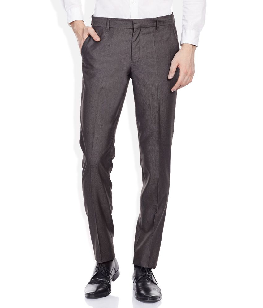John Players Grey Trousers
