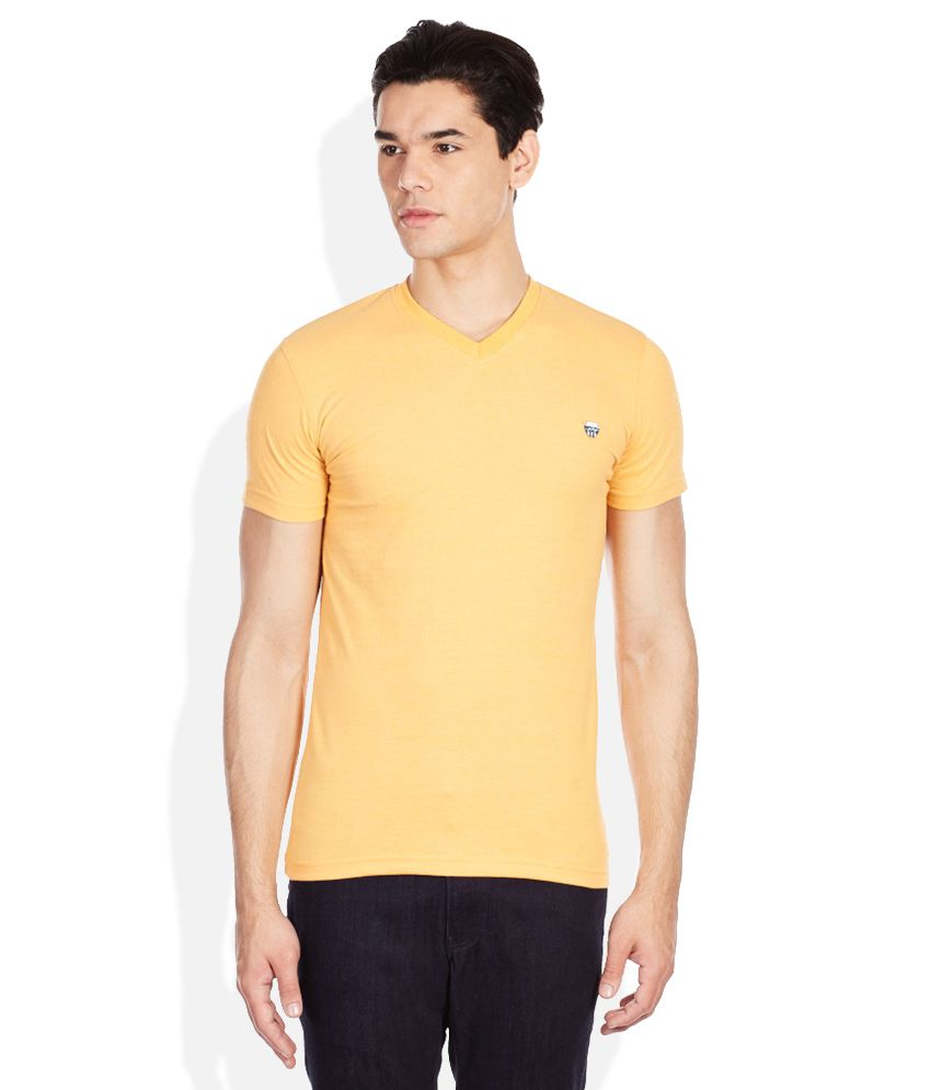 John Players Yellow T-Shirt