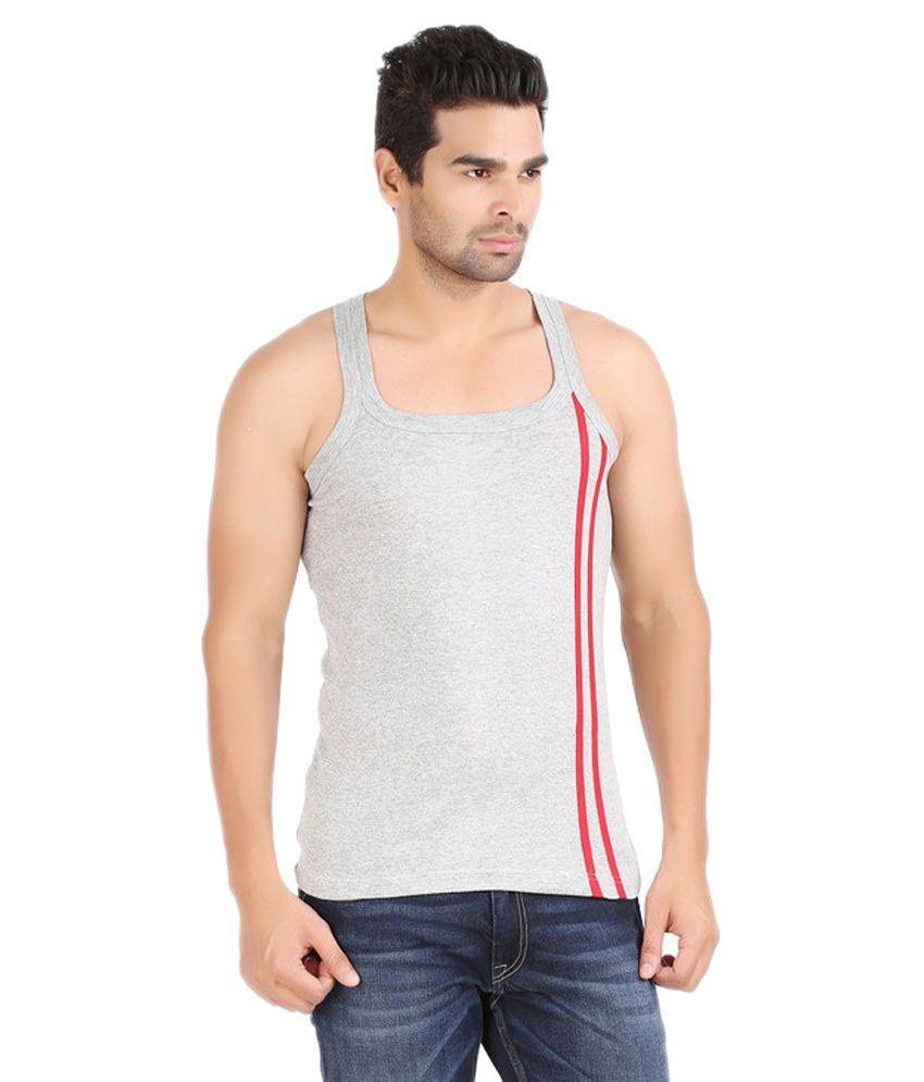 Zippy-Gray-Cotton-Vest