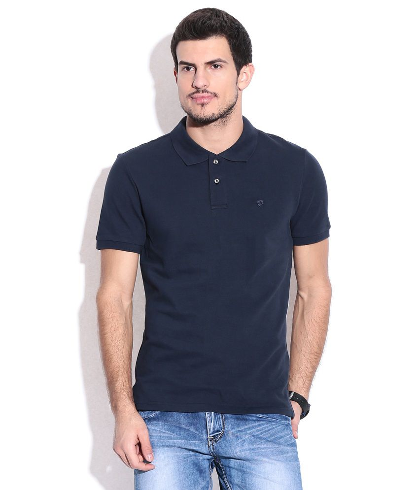 Celio Blue Cotton T-shirt