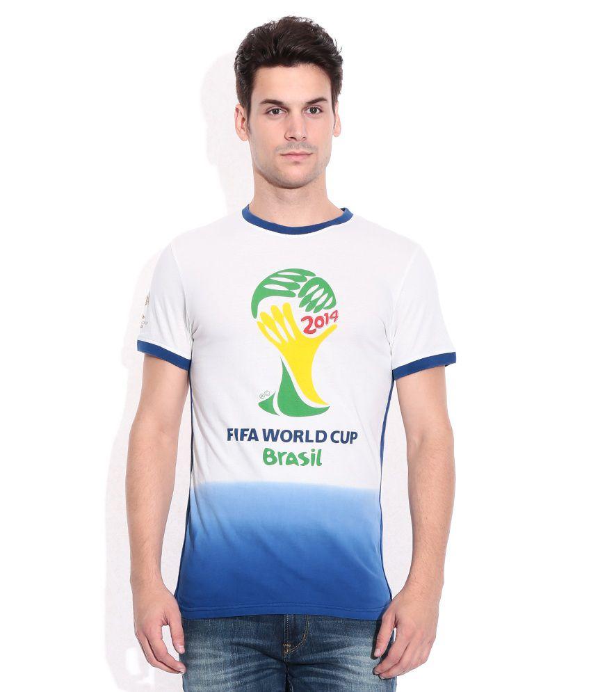 Celio GhostWhite Round Neck T-Shirt