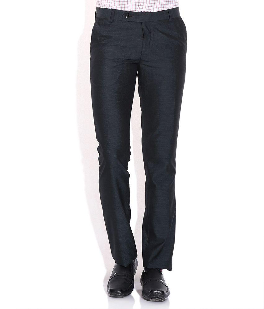 John Players Black Slim Fit Trouser