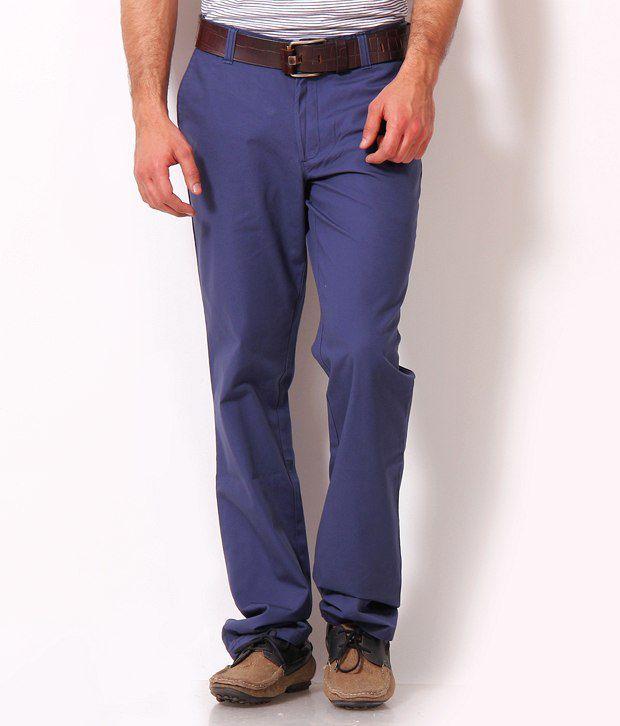 John Players Classy Purple Trousers