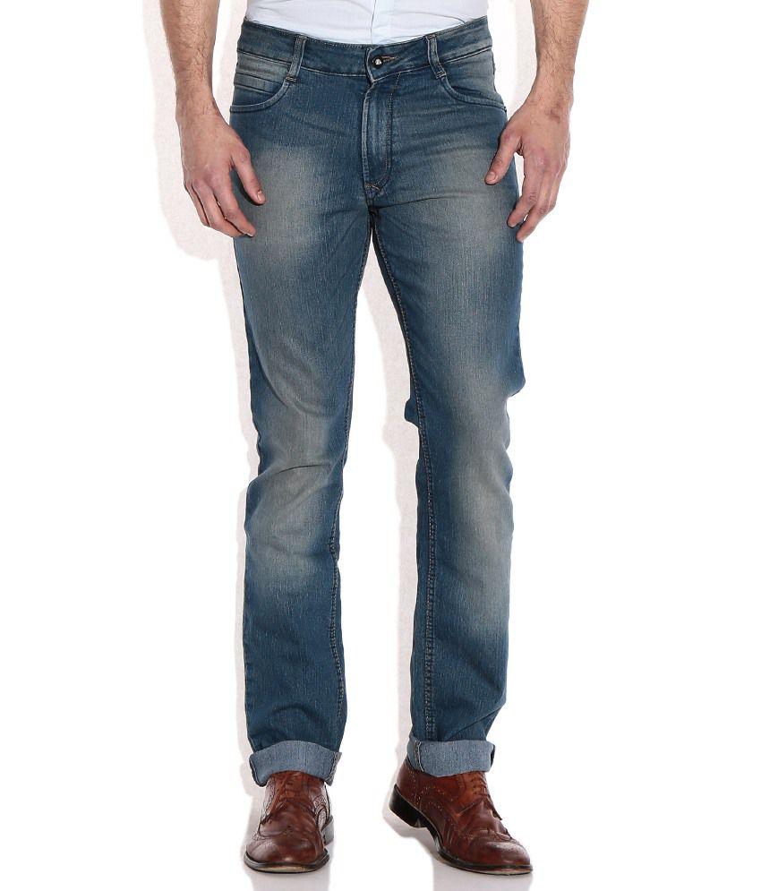 John Players Green Skinny Jeans