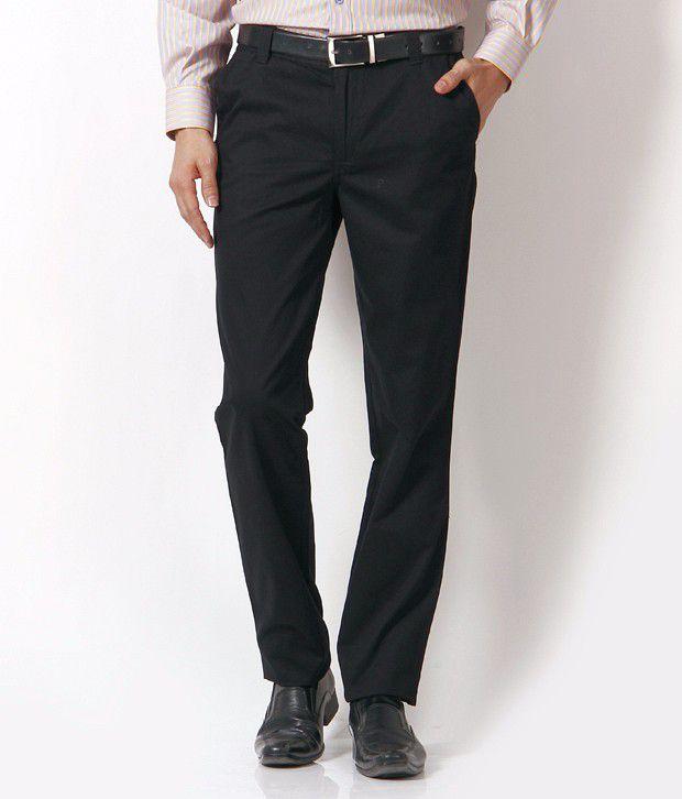 John Players Nice Black Trousers