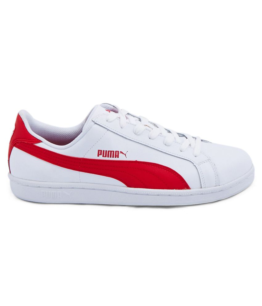 Puma Red Suede Shoes