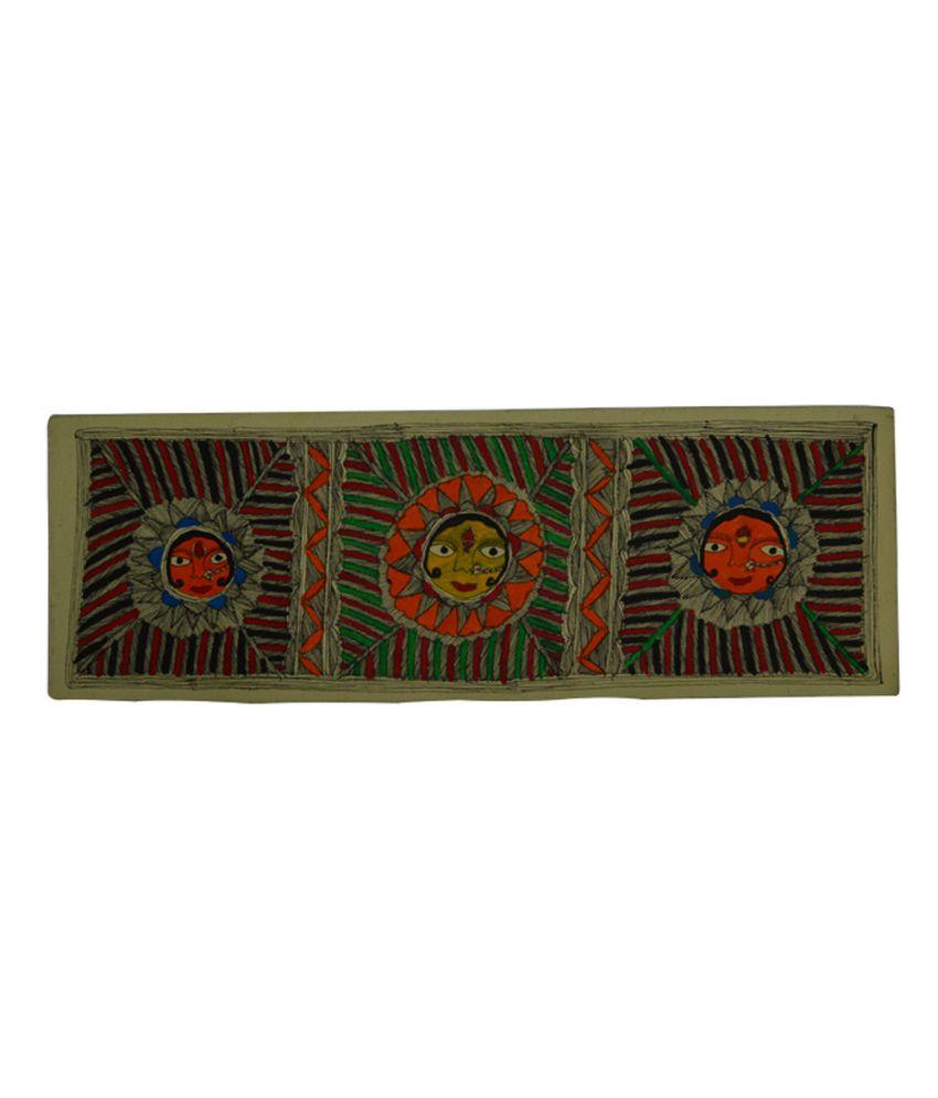 Craftuno Traditional Madhubani Painting Depicting Shakti