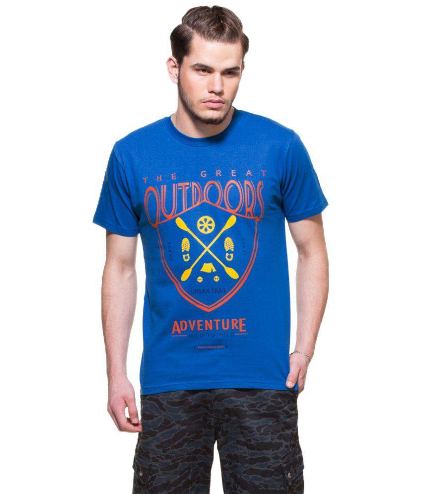 Zovi Outdoor Adventure Regatta Blue Graphic T-shirt