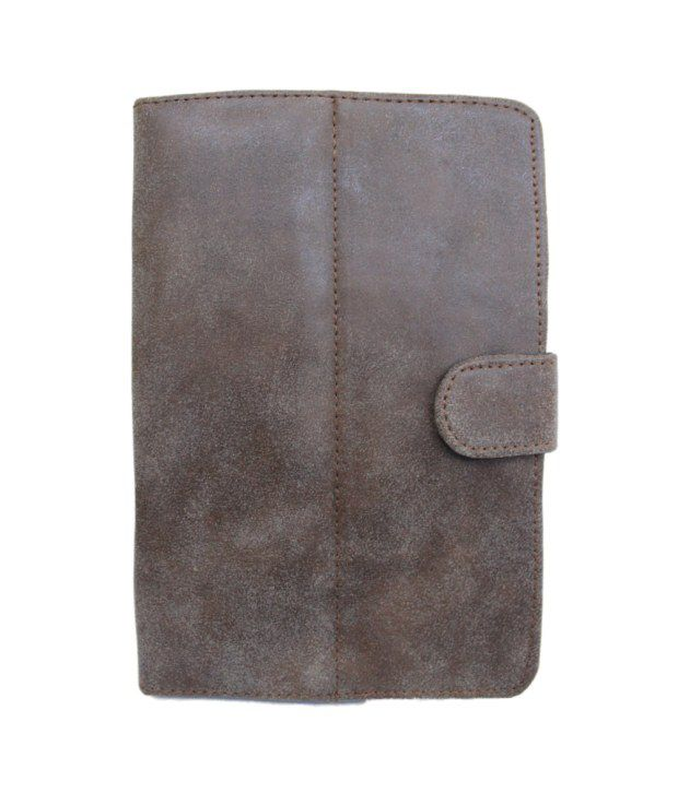 Jo Jo G1 Europa Flip Flap Case Cover Pouch Carry For Karbonn A34 - Brown