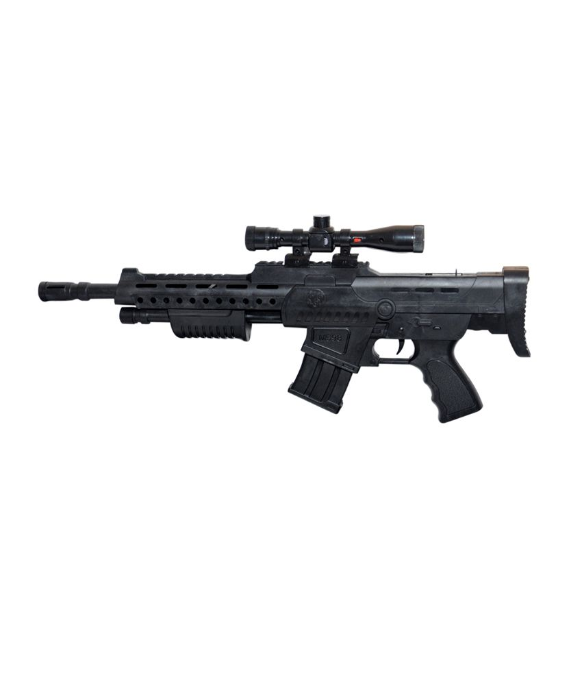 RK Black Plastic Ak-47 Gun