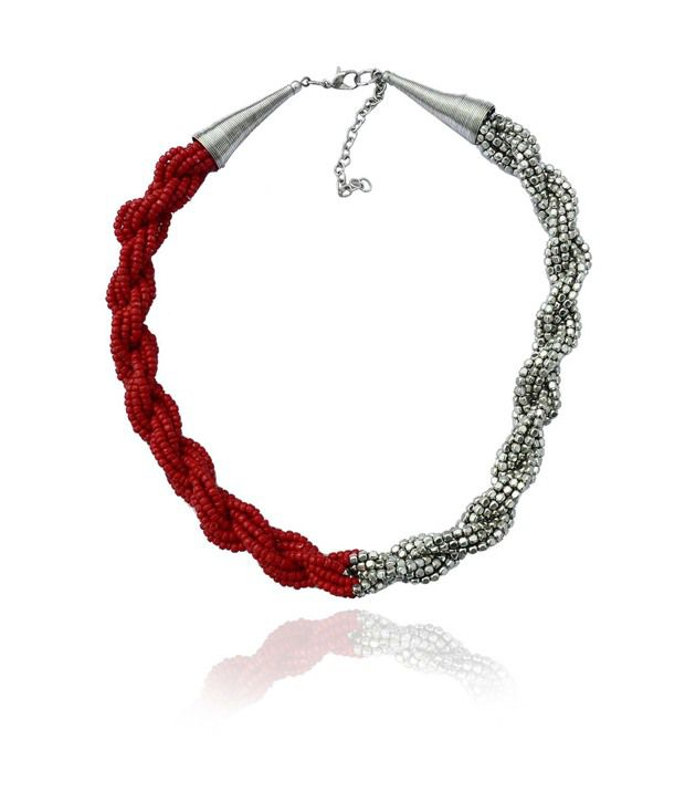 Beadworks Red Necklace