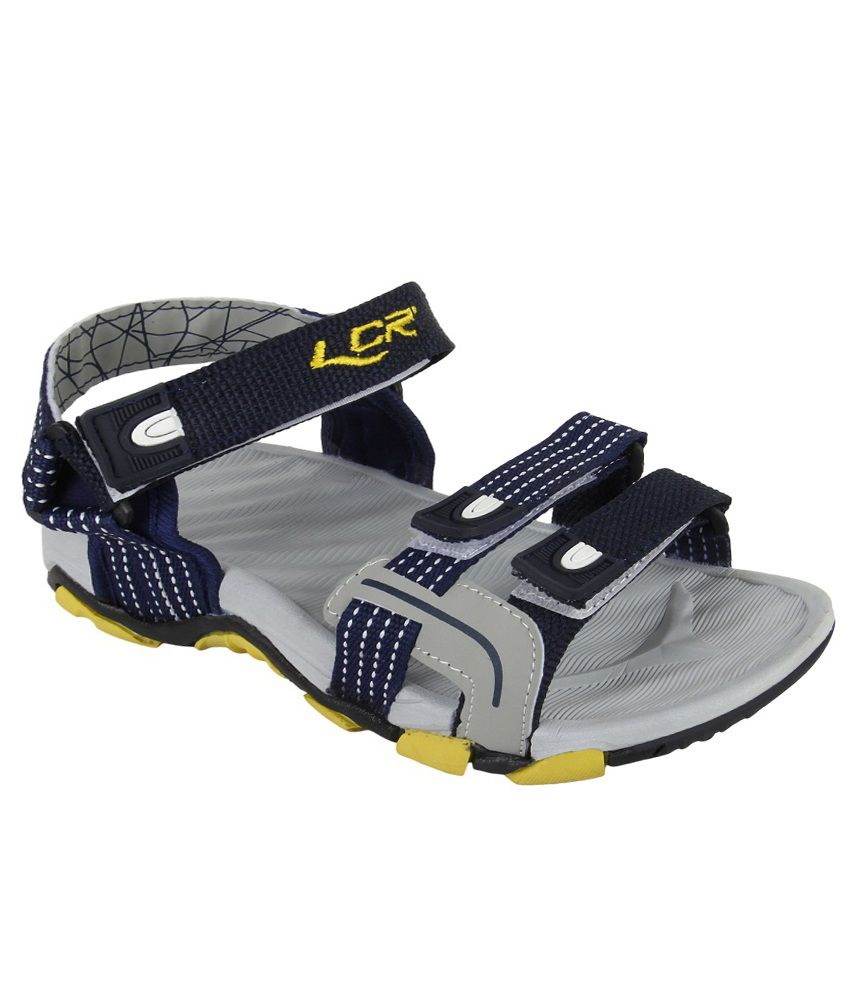 64dc441cfa2 Lancer Navy Blue Sandals - Buy Lancer Navy Blue Sandals Online at Best  Prices in India on Snapdeal