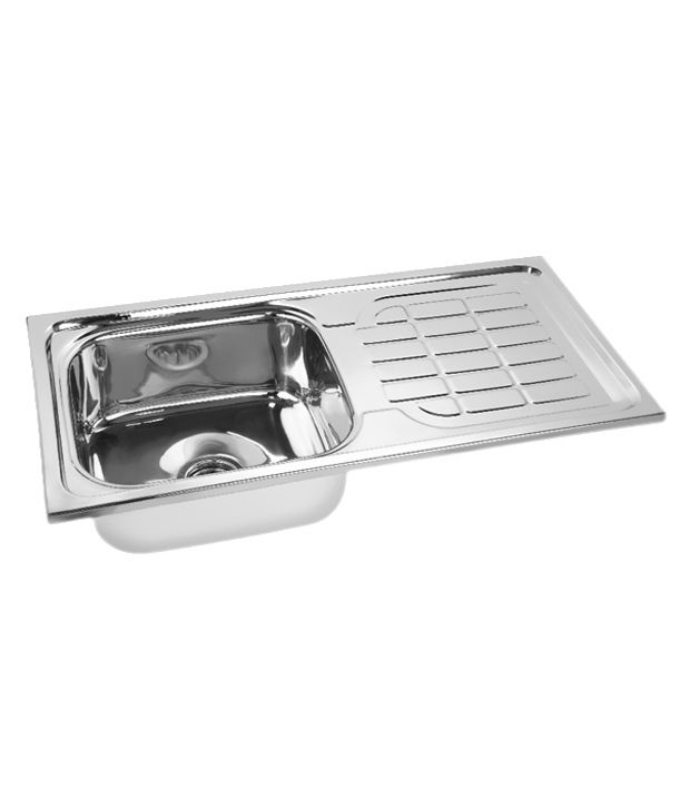 buy gargson kitchen stainless steel sink with drainboard online at