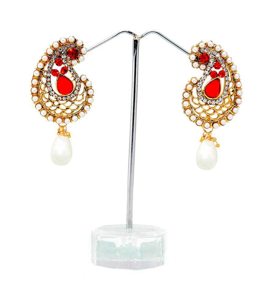Lily Red Wonderful Earrings