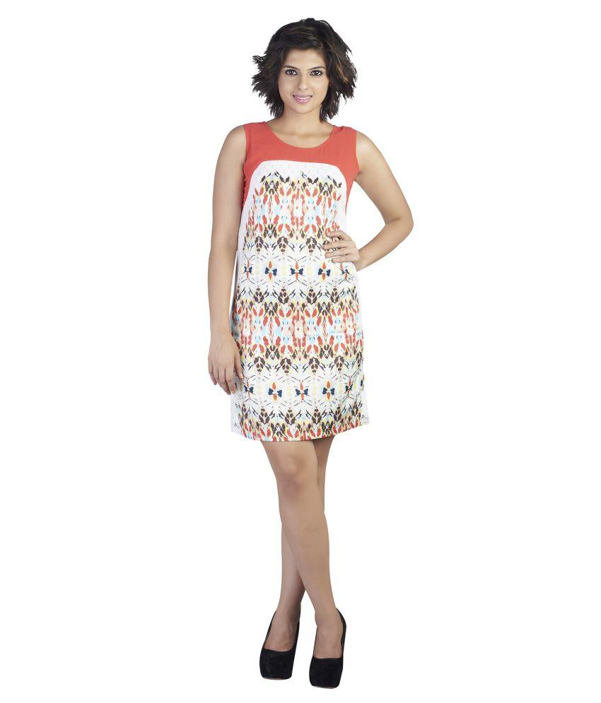 Soie Multi Color Rayon Dresses