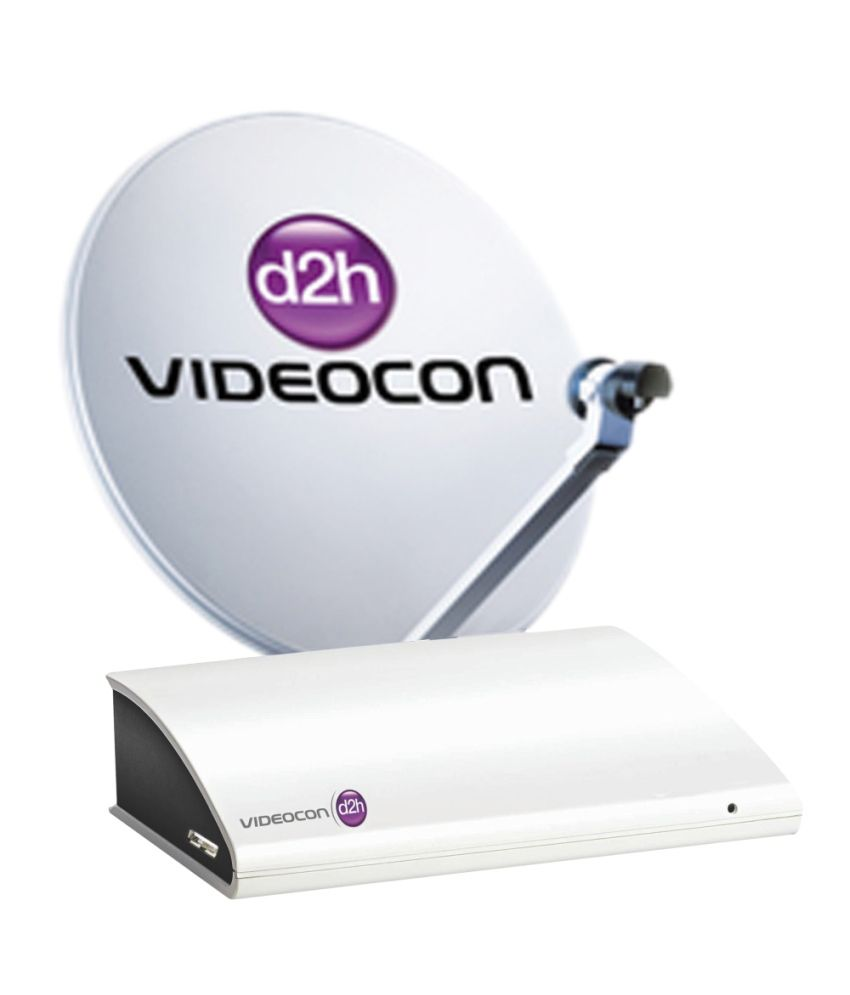Videocon SD Set Top Box With 1 Month New Gold Sports Pack