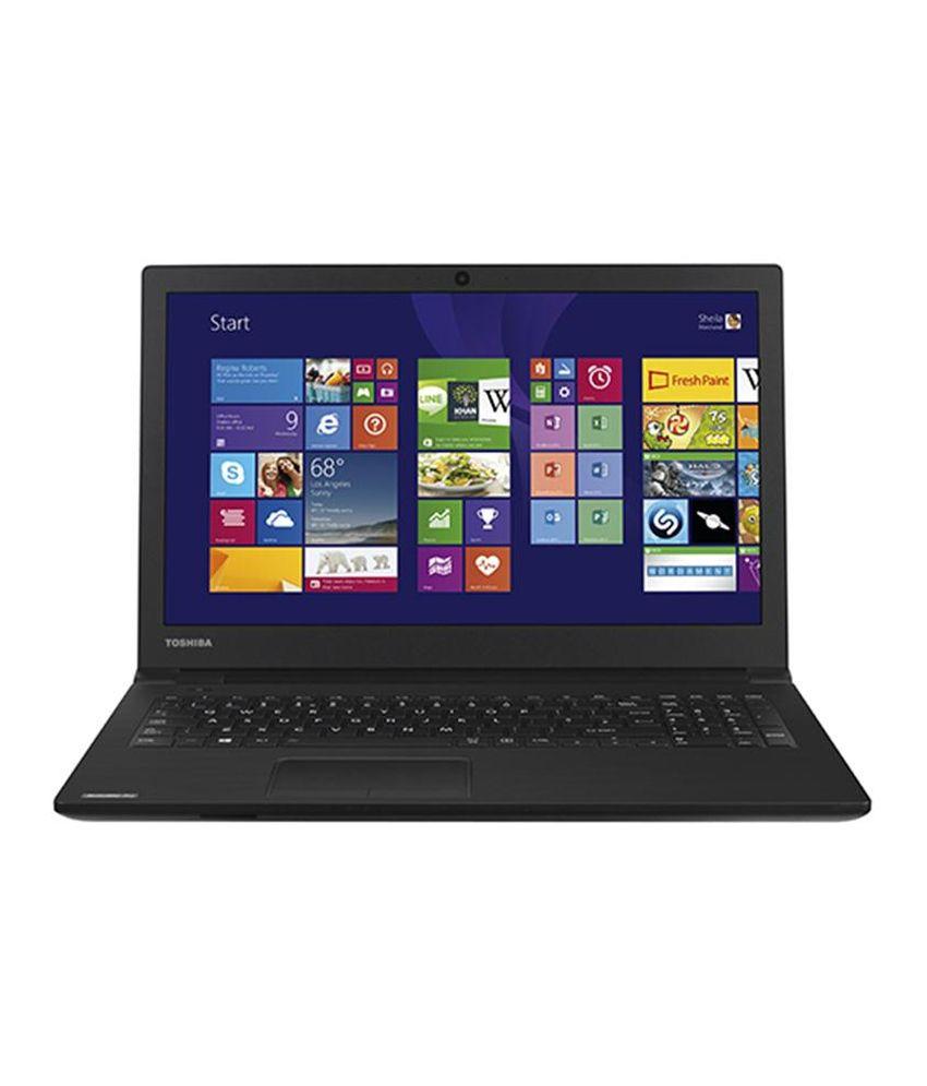 Toshiba R50-BY4100 Notebook (4th Gen Intel Core i7- 4GB RAM- 1TB HDD- 39.62 cm (15.6)- Windows 8.1) (Black)
