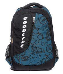 Raeen Plus Blue Polyester Backpacks