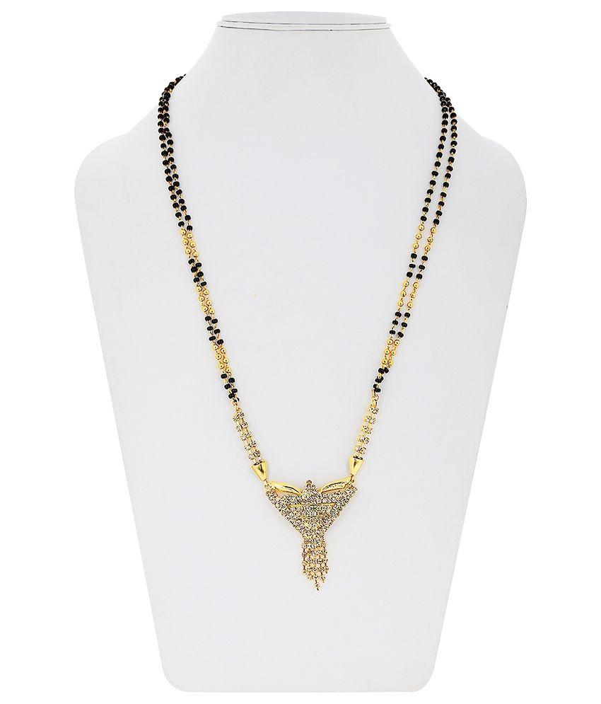 Bling N Beads Traditional Golden Mangalsutra