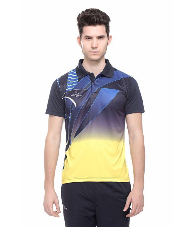 Sport Sun Sportswear Sublimation Print Half Sports Tshirt