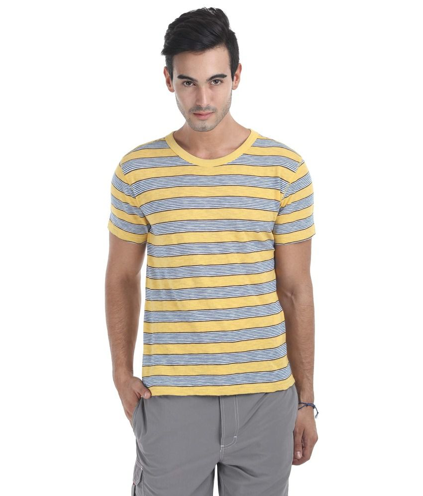 Zobello Cotton Round Neck T-Shirt