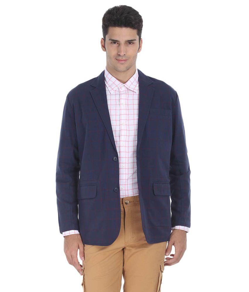Zobello Cotton Semi-Formal Blazer
